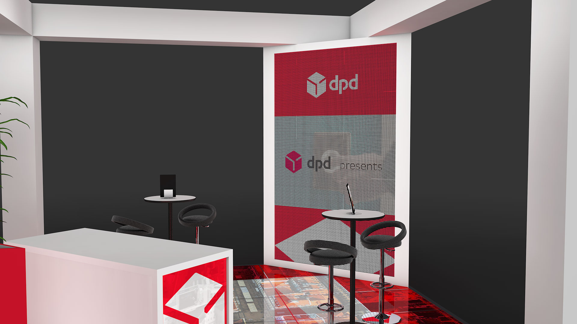 DPD-stand